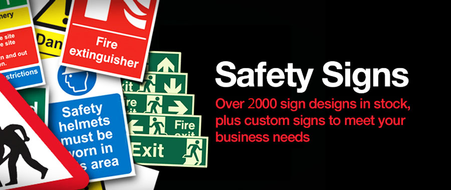 Knoxx Safety Signs